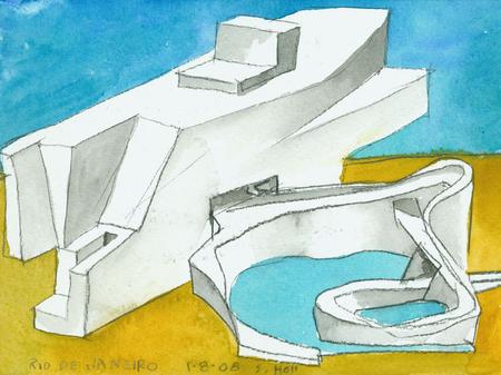 Архитектурные акварели стивена холла. Изображение № 15.