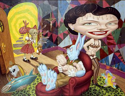 Эйсид-поп сюрреализм Тодда Шорра. Изображение № 8.