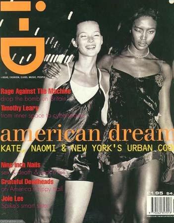 Кейт Мосс, наобложках главных модных журналов планеты. Изображение № 28.