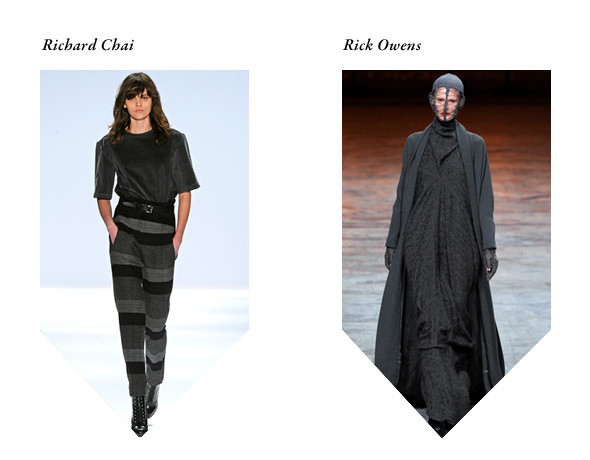 Richard Chai: A Real Hero — «College»; Rick Owens: Zebra katz — «Ima Read». Изображение № 14.
