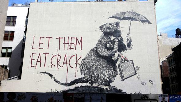 Изображение 26. Banksy (уличная мышь – герой).. Изображение № 26.