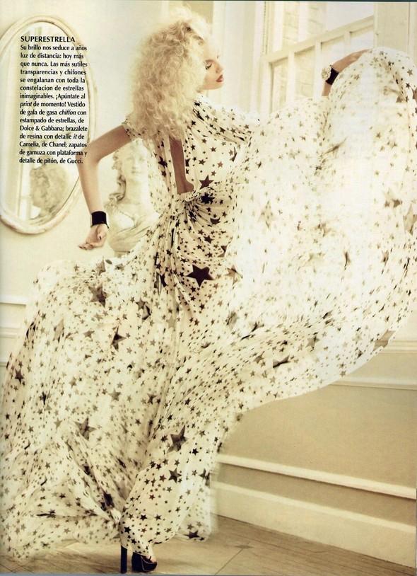 Съёмка: Магдалена Фрацковяк для мексиканского Vogue. Изображение № 4.
