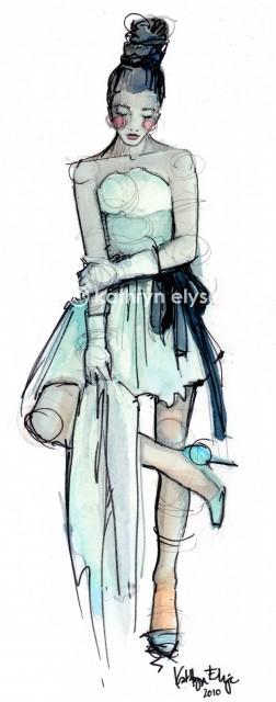 Kathryn Elyse. Fashion Illustrations. Изображение № 13.
