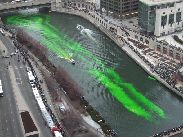 Изумрудные воды Чикаго. Изображение № 3.