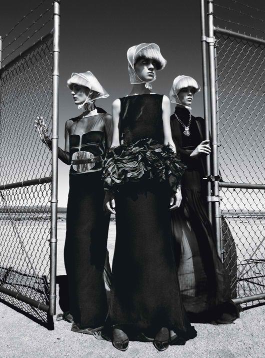 Съемки: Numero, Vogue, W и другие. Изображение №71.