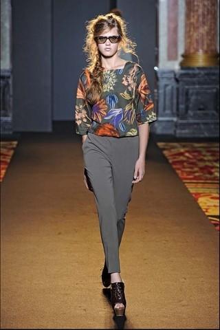 Алена Ахмадуллина на Парижской неделе моды. Изображение № 4.