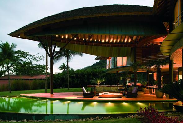 Райская сень дома-«листа». Изображение № 5.