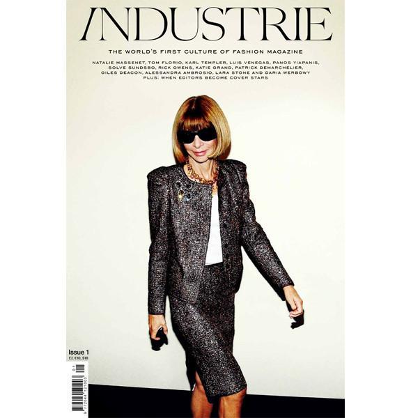 Первый номер журнала Industrie с главредом американского Vogue Анной Винтур на обложке. Изображение № 2.