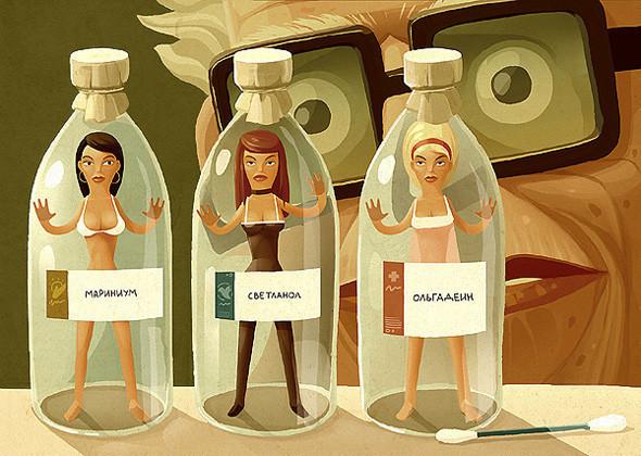 Красивые иллюстрации Андрея Гордеева. Изображение № 21.