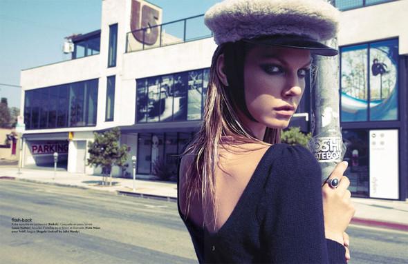 Съемка: Анджела Линдвалл для французского Elle. Изображение № 12.