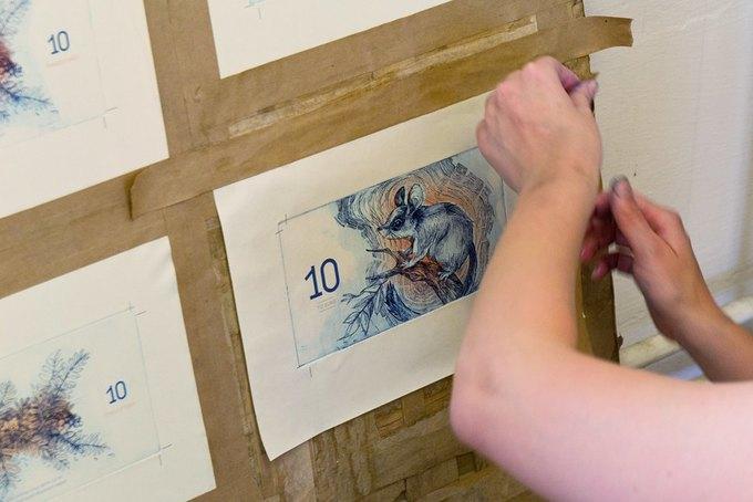 Концепт дня: банкноты несуществующих венгерских евро. Изображение № 24.
