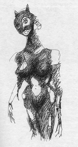 Тим Бартон в роли художника. Изображение № 29.