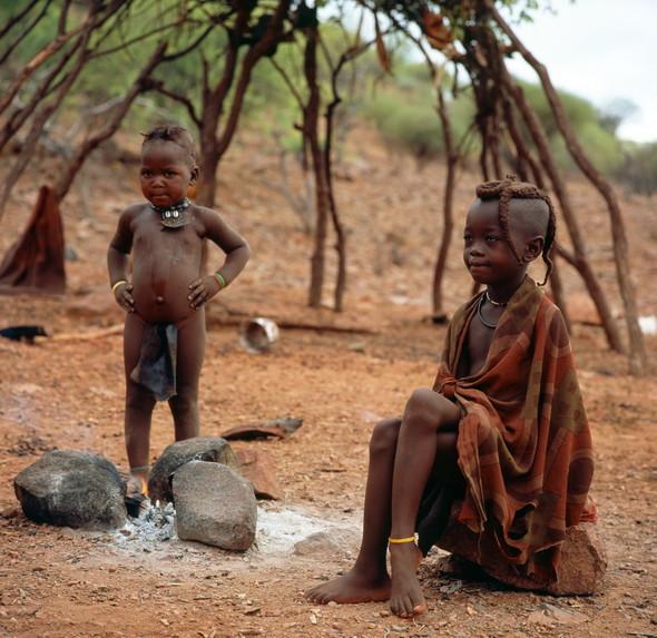 Женщины племени Химба. Намибия. Изображение № 5.