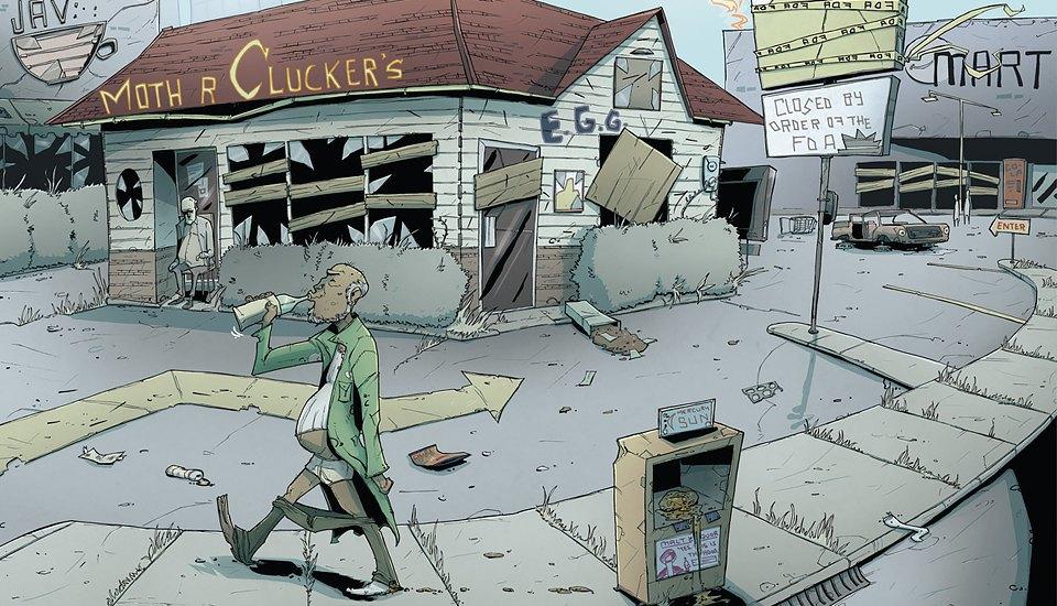 Как сделать захватывающий детективный комикс о еде. Изображение № 4.