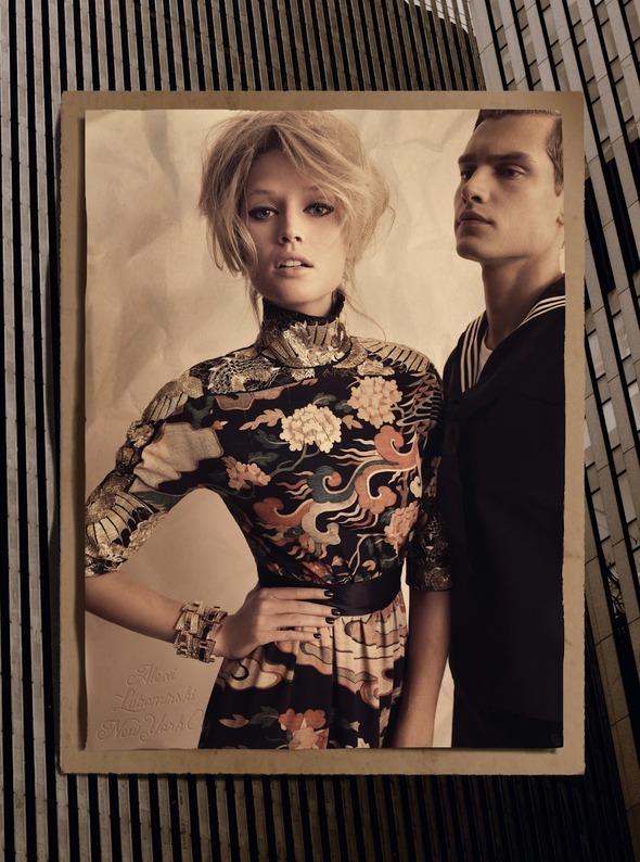 Съемки: Numero, Vogue, W и другие. Изображение №56.