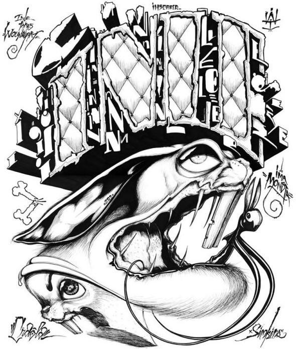 Безумный мир Greg Craola Simkins. Изображение № 2.