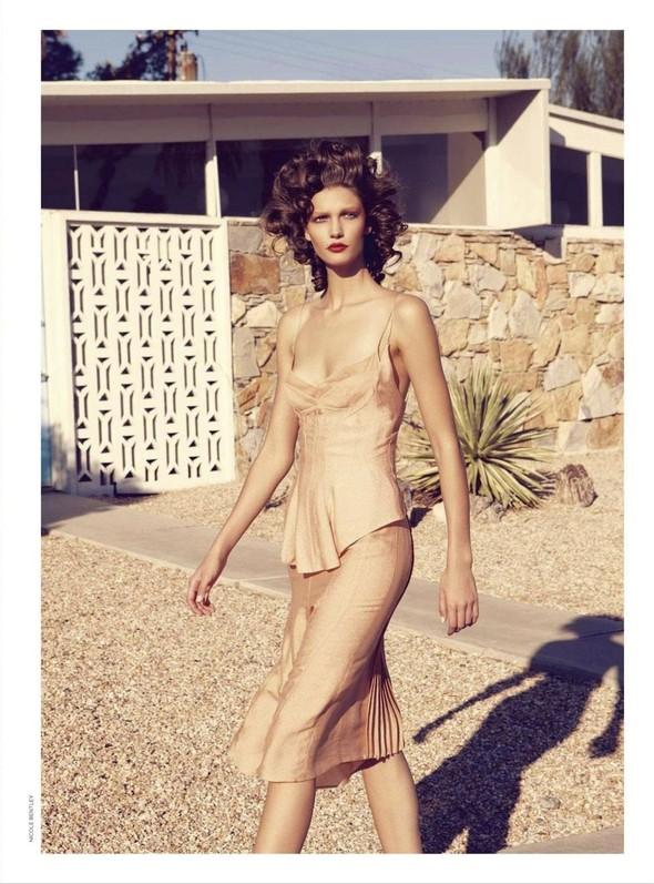 Съёмка: Марло Хорст и Кендра Спирс для австралийского Vogue. Изображение № 11.