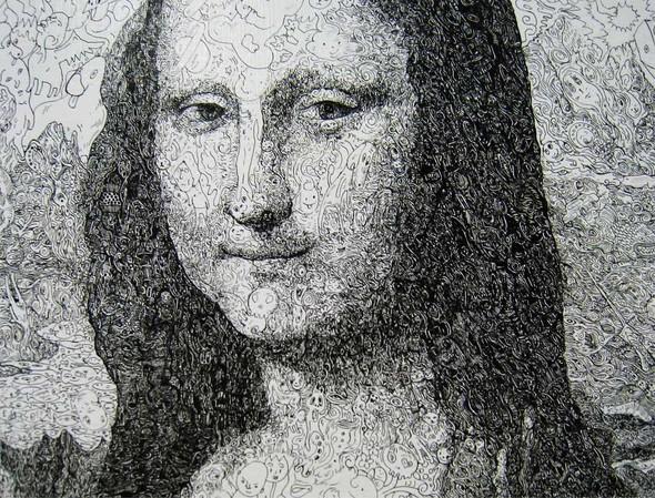 Мона Лиза из котиков или искусство по-японски. Изображение № 2.