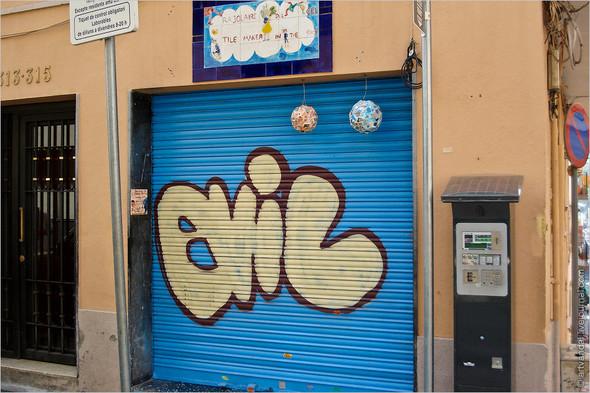 Стрит-арт и граффити Барселоны, Испания. Изображение № 10.
