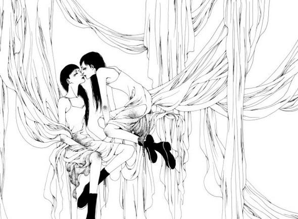 Katsuta Mako – черно-белая грация. Изображение № 44.
