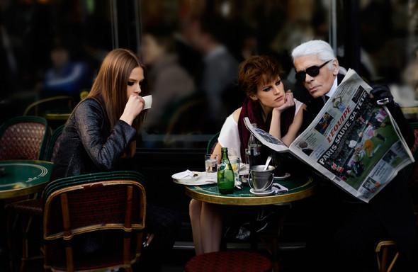 Съёмки: Elle, i-D и Vogue. Изображение № 2.
