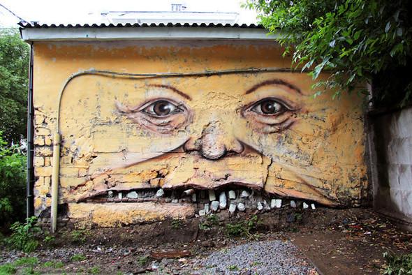 Живой стрит-арт Никиты Nomerz. Изображение № 3.