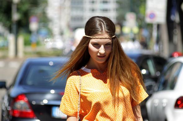 Изображение 4. Девушки на Milan Fashion Week: день 2.. Изображение № 4.