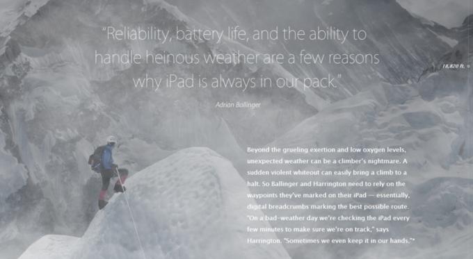 Apple рассказала об использовании iPad в Гималаях . Изображение № 3.