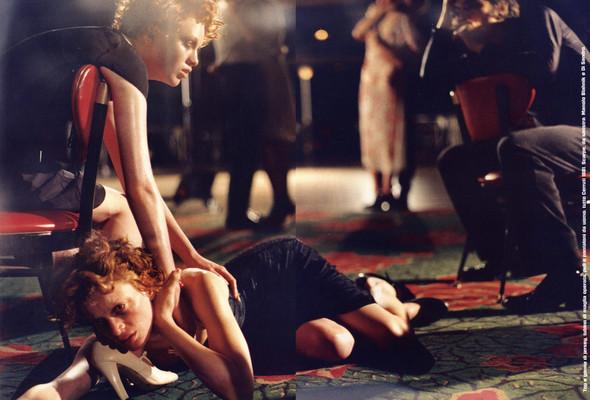 Архивная съёмка: сет Fashion Marathon из итальянского Vogue за 1997 год. Изображение № 4.