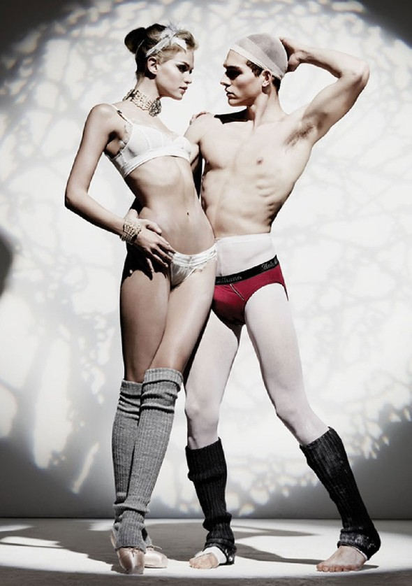 Лукбук: John Galliano Underwear FW 2011. Изображение № 4.