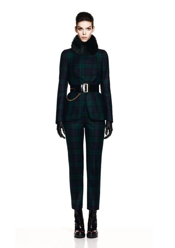 McQueen Fall 2012 Lookbook. Изображение № 8.