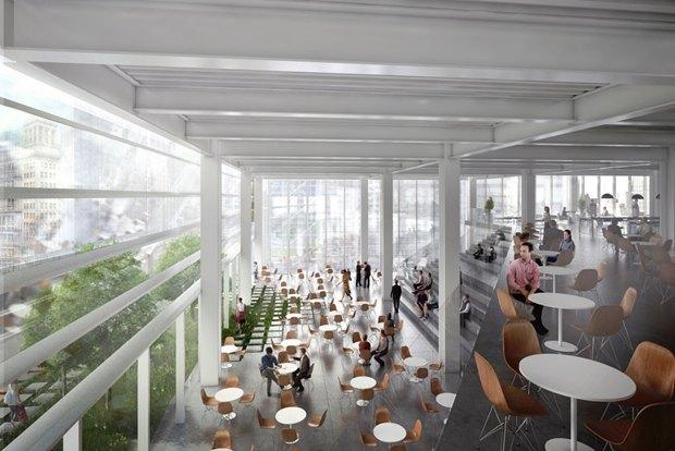 Представлен проект третьей повысоте башни Манхэттена. Изображение № 13.