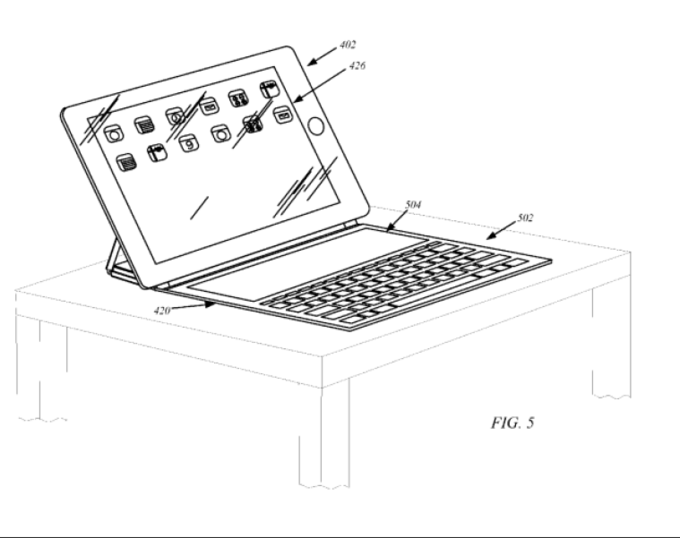 Apple может представить чехол-клавиатуру для iPad 5. Изображение № 1.
