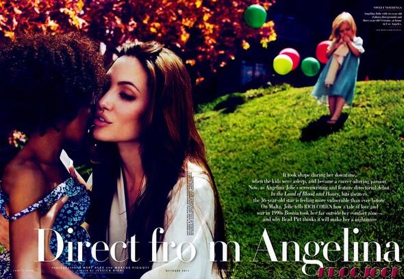 Съёмка: Анджелина Джоли для Vanity Fair. Изображение № 1.
