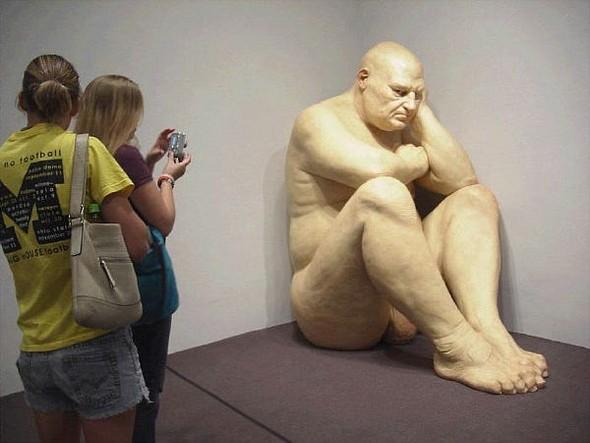 Скульптор-гиперреалист РонМуек (Ron Mueck). Изображение №7.