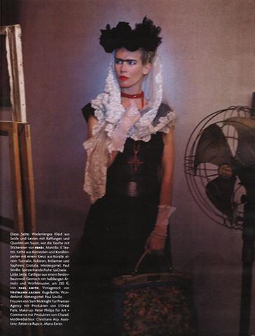 Vogue Germany, март 2010, фотограф Карл Лагерфельд . Изображение № 65.