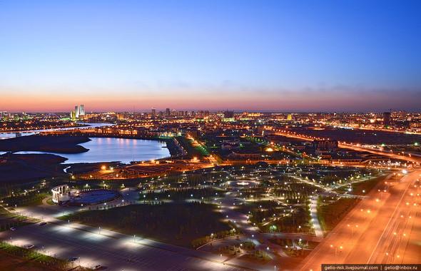Изображение 5. Астана с высоты птичьего полета.. Изображение № 5.