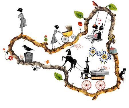 Юношеский Сюрреализм – Иллюстрации Брэтта Райдера. Изображение № 24.