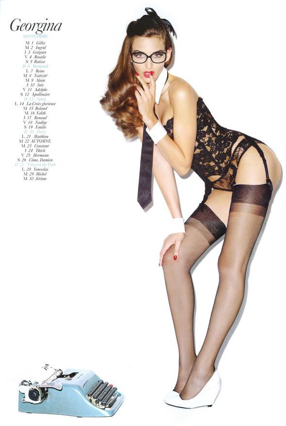 Vogue Paris 2008-2009-2010 Calendar. Изображение № 23.