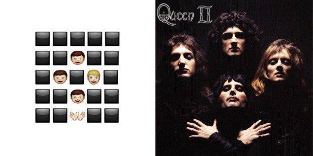 Музыкант воссоздал обложки классических альбомов из Emoji. Изображение № 2.