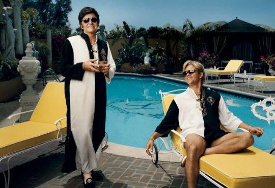 Фото журнала Vanity Fair с Либераче и его любовником. Изображение № 1.