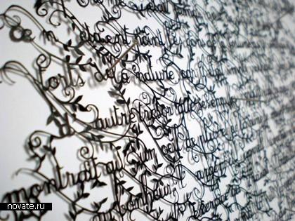Необыкновенные кружева изобычной бумаги. Hina Aoyama. Изображение № 2.