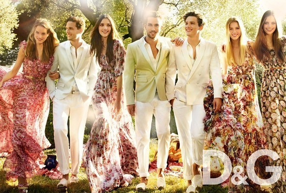 Изображение 4. S/S'11 Ad Campaign: Donna Karan, D&G, DKNY.. Изображение № 4.
