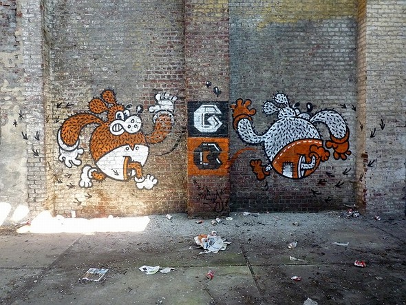 Стрит-арт в Париже. Изображение № 29.