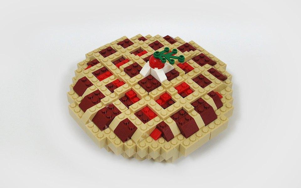 Как выглядит еда, сделанная из LEGO. Изображение № 9.