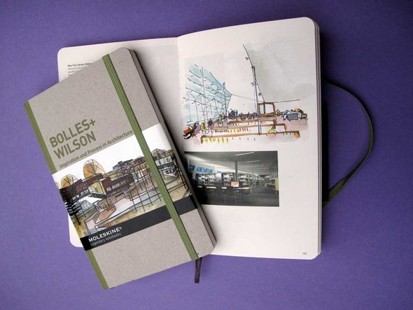 Moleskine Inspiration And Process In Architecture. Изображение № 2.