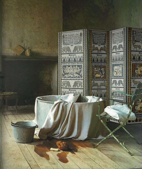Ручная набойка по ткани: Е.А.Шнайдер и Н.Чурбакова. Изображение № 13.
