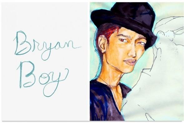 TheBlogger Portrait Series byDanny Roberts. Изображение № 9.