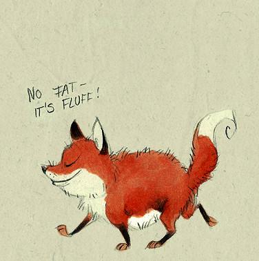 Забавные иллюстрации из жизни лисиц от Skia. Изображение № 13.