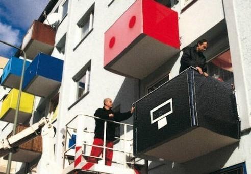 Креативные балконы. Увы, нев наших домах. Изображение № 1.